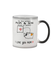 31 47 NM WA New Mexico Washington Mom and Son D1 Color Changing Mug tile