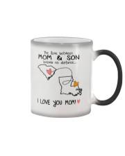 40 18 SC LA South Carolina Louisiana Mom and Son D Color Changing Mug thumbnail
