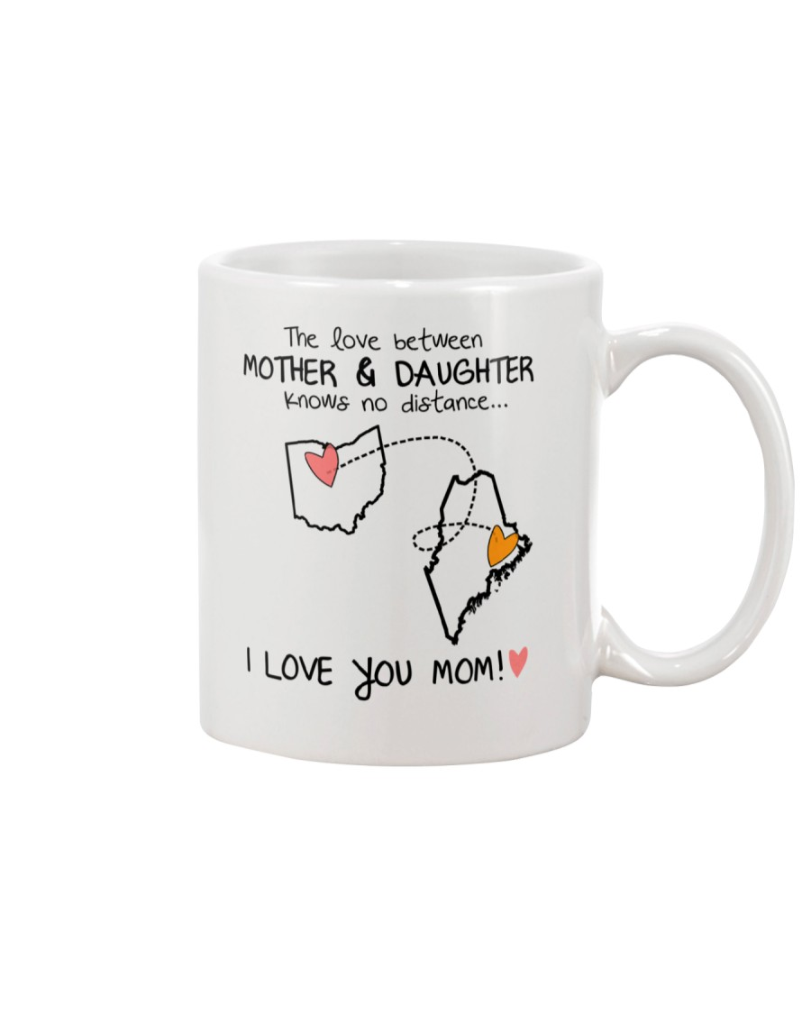 35 19 OH ME Ohio Maine mother daughter D1 Mug