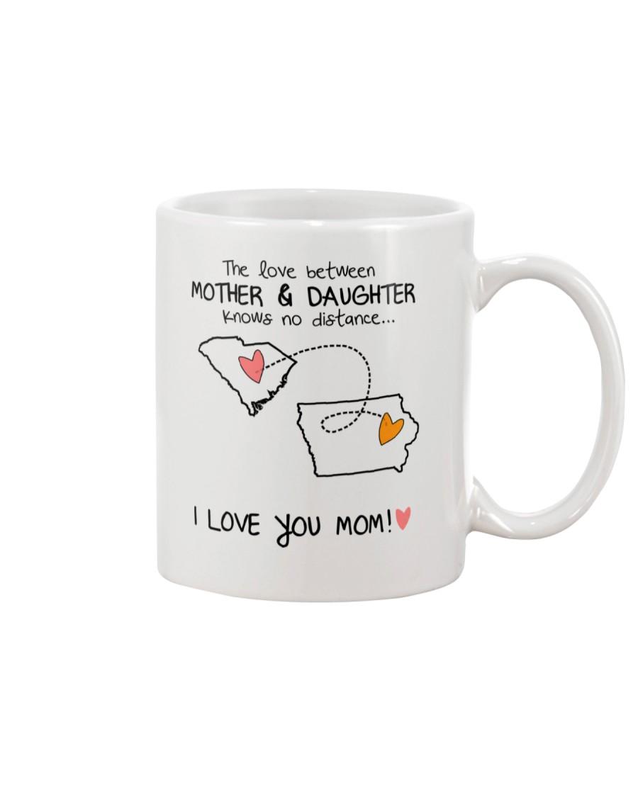 40 15 SC IA SouthCarolina Iowa mother daughter D1 Mug