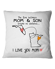 09 23 FL MN Florida Minnesota PMS6 Mom Son Square Pillowcase thumbnail