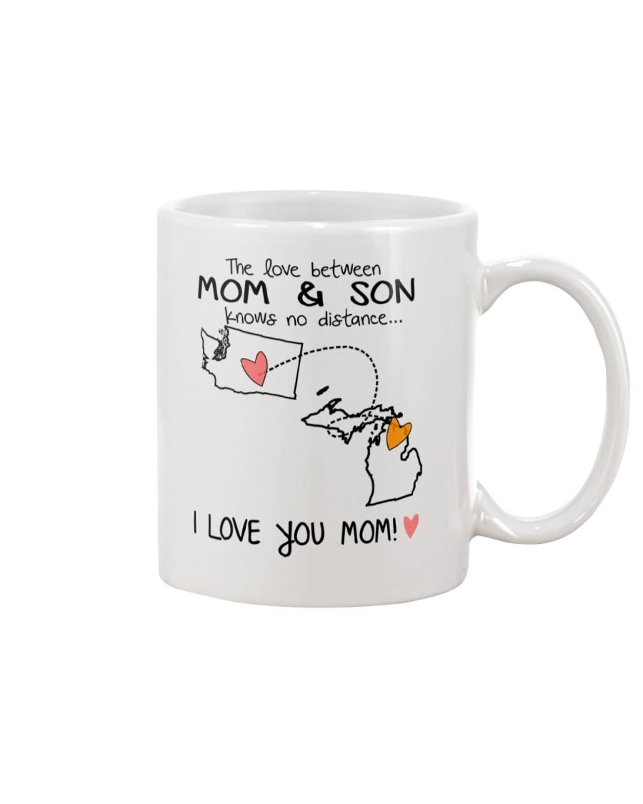 47 22 WA MI Washington Michigan Mom and Son D1 Mug
