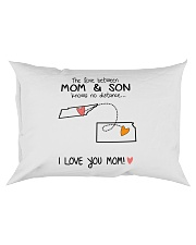 42 16 TN KS Tennessee Kansas PMS6 Mom Son Rectangular Pillowcase thumbnail