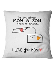 42 16 TN KS Tennessee Kansas PMS6 Mom Son Square Pillowcase thumbnail
