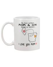 13 04 IL AR Illinois Arkansas B1 Mother Son Mug Mug back