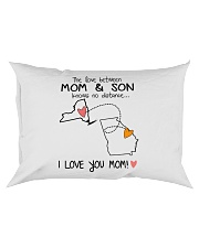 32 10 NY GA New York Georgia PMS6 Mom Son Rectangular Pillowcase tile