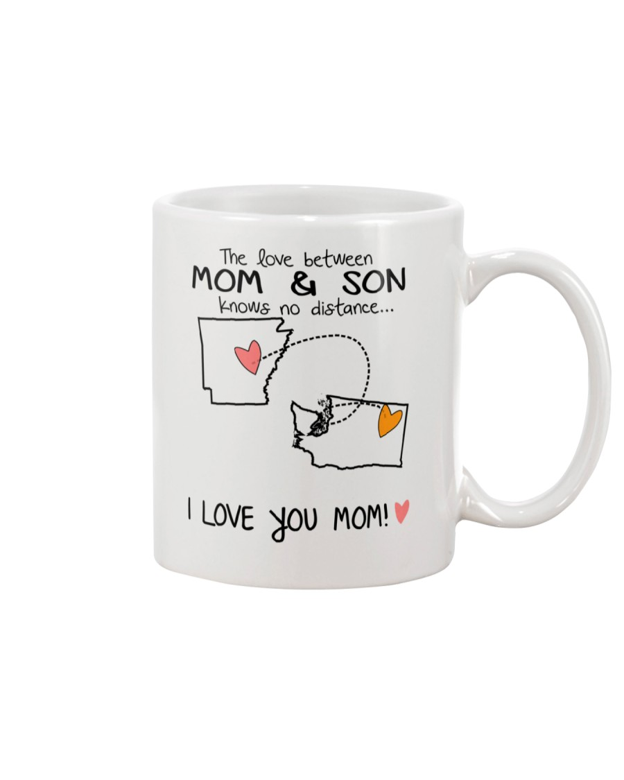 04 47 AR WA Arkansas Washington Mom and Son D1 Mug