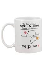 04 07 AR CT Arkansas Connecticut Mom and Son D1 Mug back