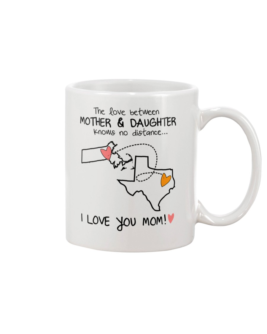 21 43 MA TX Massachusetts Texas mother daughter D1 Mug