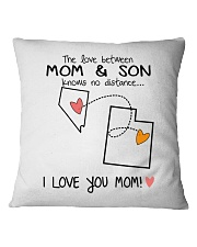 28 44 NV UT Nevada Utah PMS6 Mom Son Square Pillowcase thumbnail