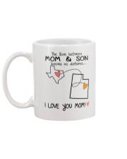 43 44 TX UT Texas Utah Mom and Son D1 Mug back
