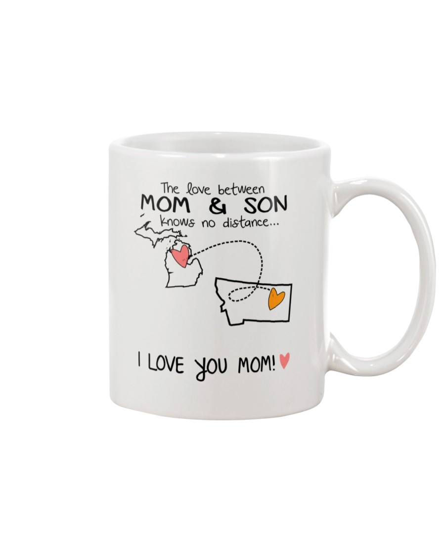 22 26 MI MT Michigan Montana Mom and Son D1 Mug