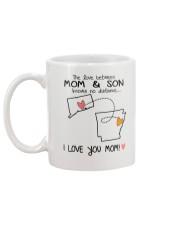 07 04 CT AR Connecticut Arkansas Mom and Son D1 Mug back
