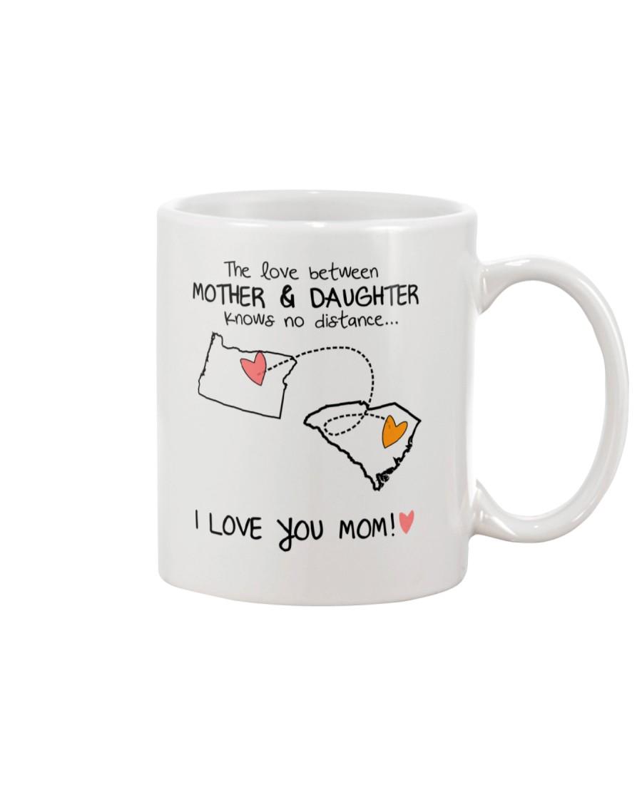37 40 OR SC Oregon SouthCarolina mother daughter D Mug