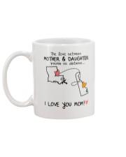 18 08 LA DE Louisiana Delaware mother daughter D1 Mug back