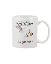 22 46 MI VA Michigan Virginia Mom and Son D1 Mug front