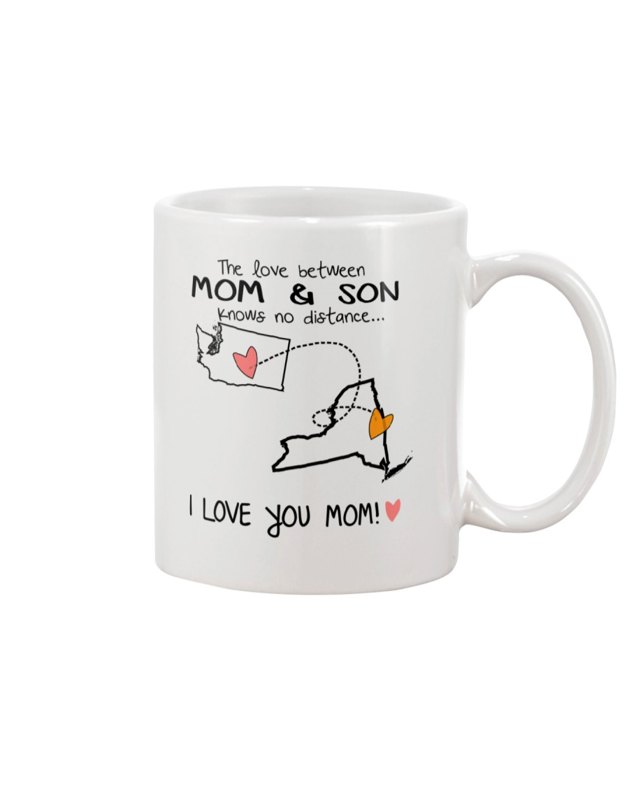 47 32 WA NY Washington New York B1 Mother Son Mug Mug