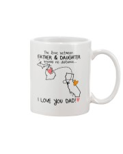 22 05 MI CA Michigan California Father Daughter D1 Mug front