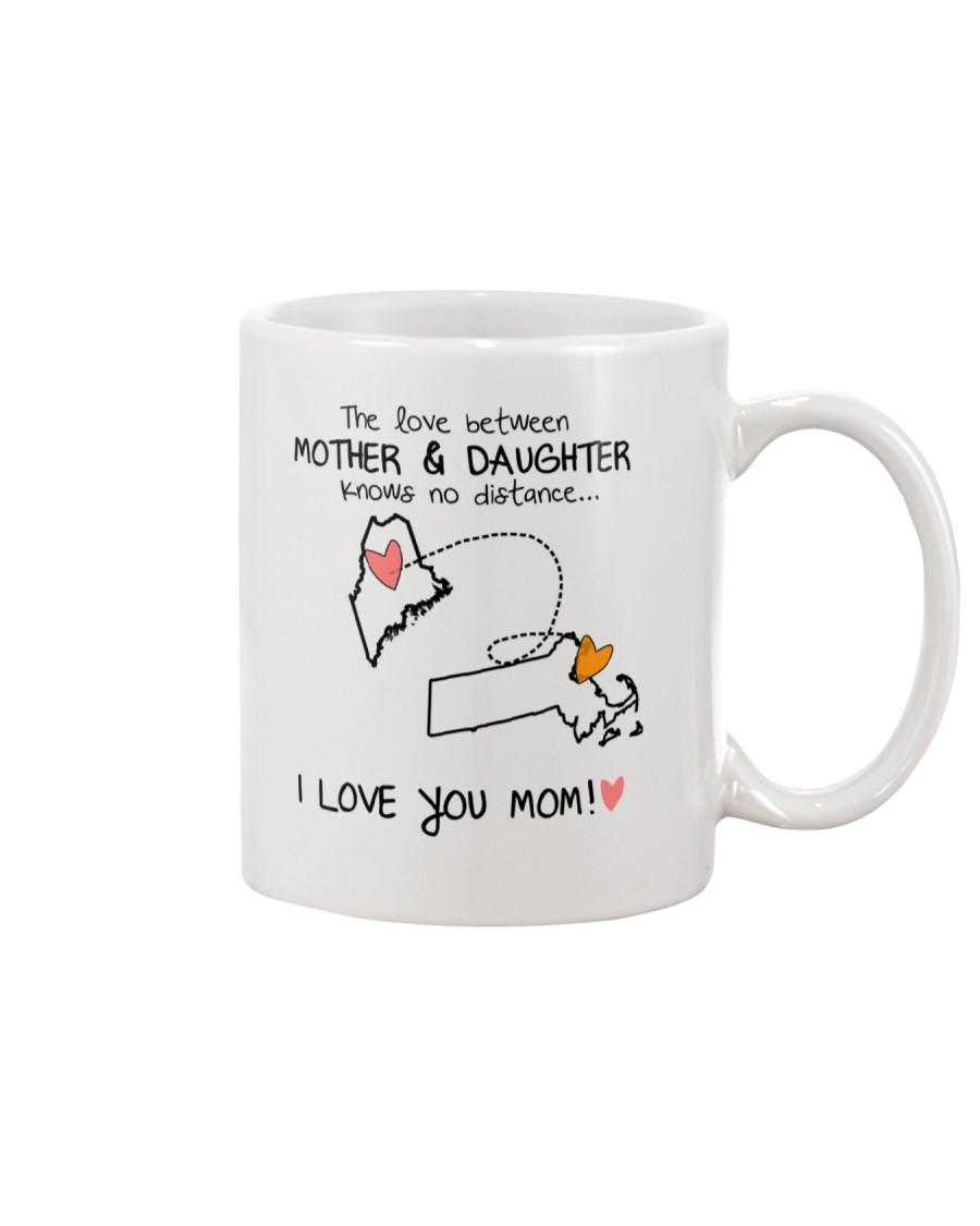 19 21 ME MA Maine Massachusetts mother daughter D1 Mug