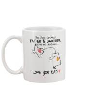 43 01 TX AL Texas Alabama Father Daughter D1 Mug back