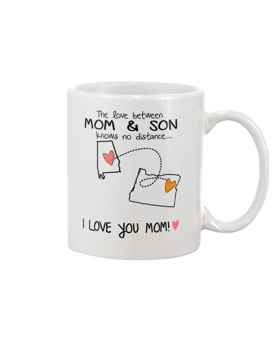 01 37 AL OR Alabama Oregon Mom and Son D1 Mug