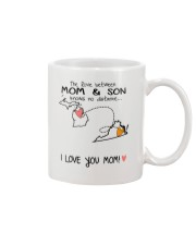 22 46 MI VA Michigan Virginia B1 Mother Son Mug Mug front