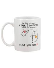 48 14 WV IN WestVirginia Indiana mother daughter D Mug back