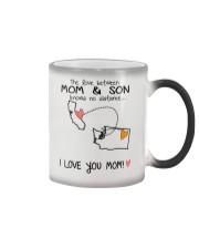 05 47 CA WA California Washington Mom and Son D1 Color Changing Mug thumbnail