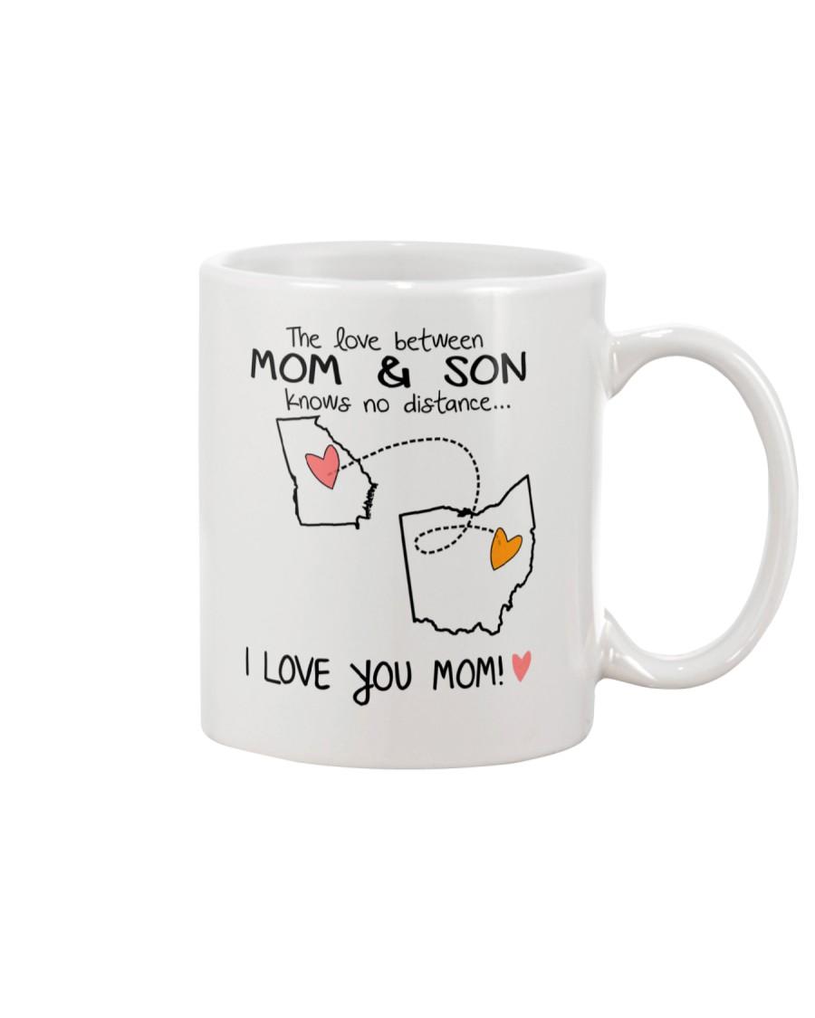 10 35 GA OH Georgia Ohio Mom and Son D1 Mug