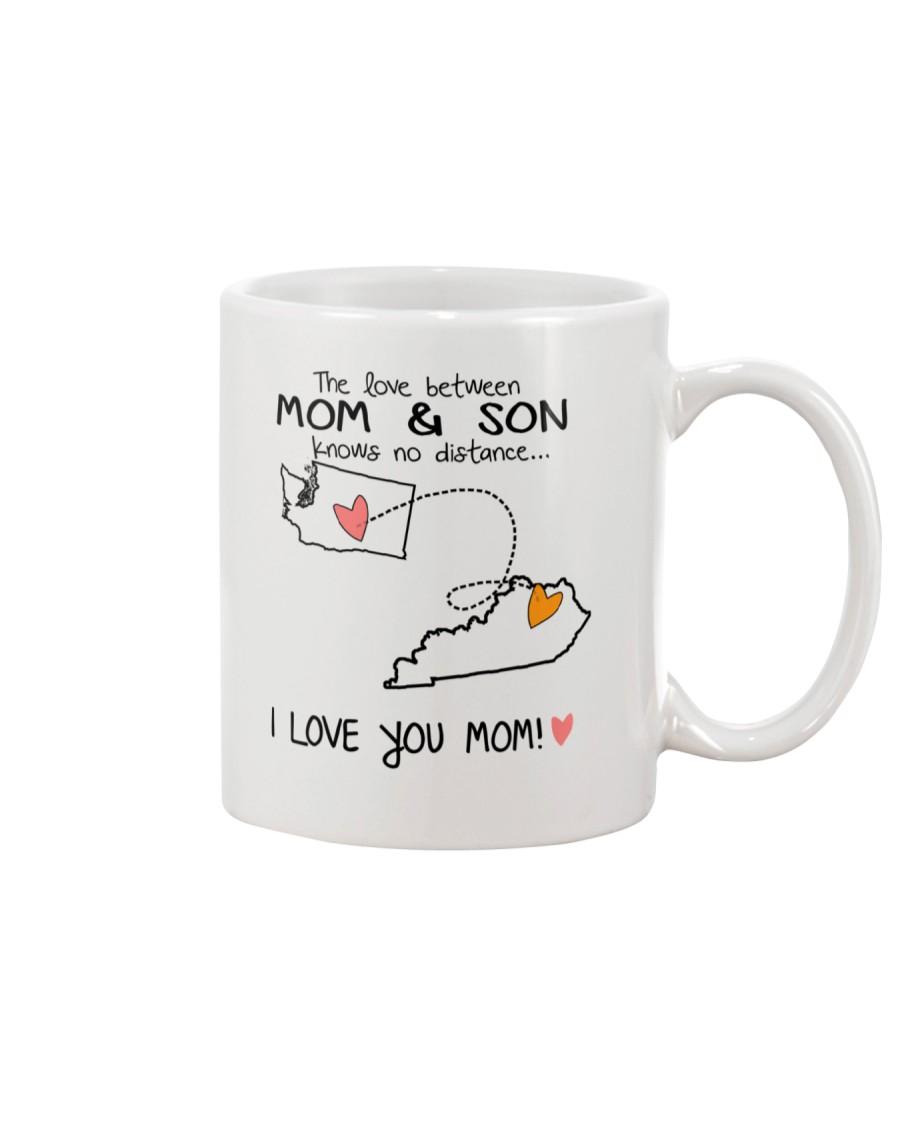 47 17 WA KY Washington Kentucky Mom and Son D1 Mug