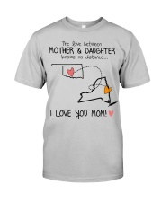 MD 3632 OKNY OKLAHOMA NEWYORK MOTHER DAUGHTER Classic T-Shirt front