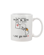 44 22 UT MI Utah Michigan PMS6 Mom Son Mug front
