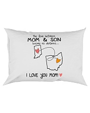 14 35 IN OH Indiana Ohio PMS6 Mom Son Rectangular Pillowcase thumbnail
