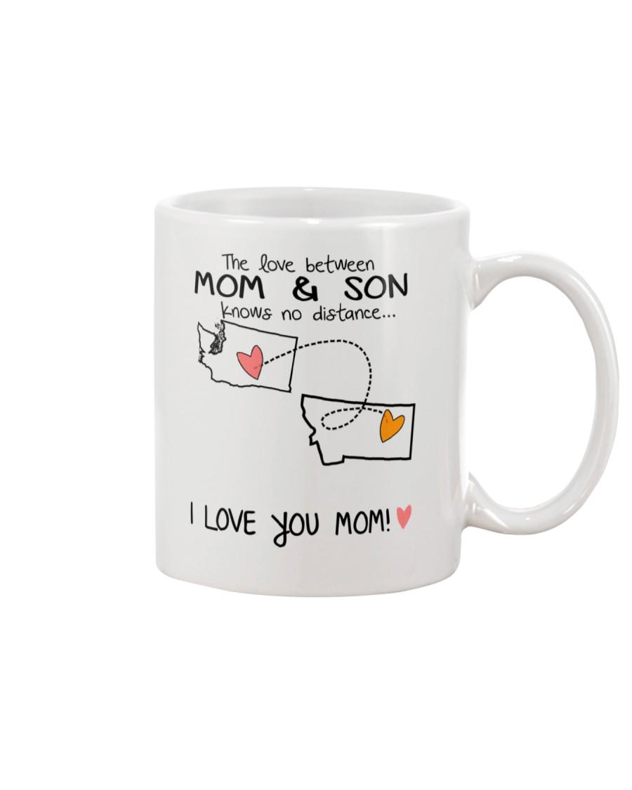 47 26 WA MT Washington Montana Mom and Son D1 Mug