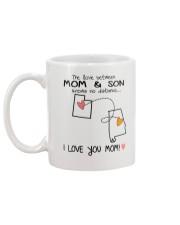 44 01 UT AL Utah Alabama B1 Mother Son Mug Mug back