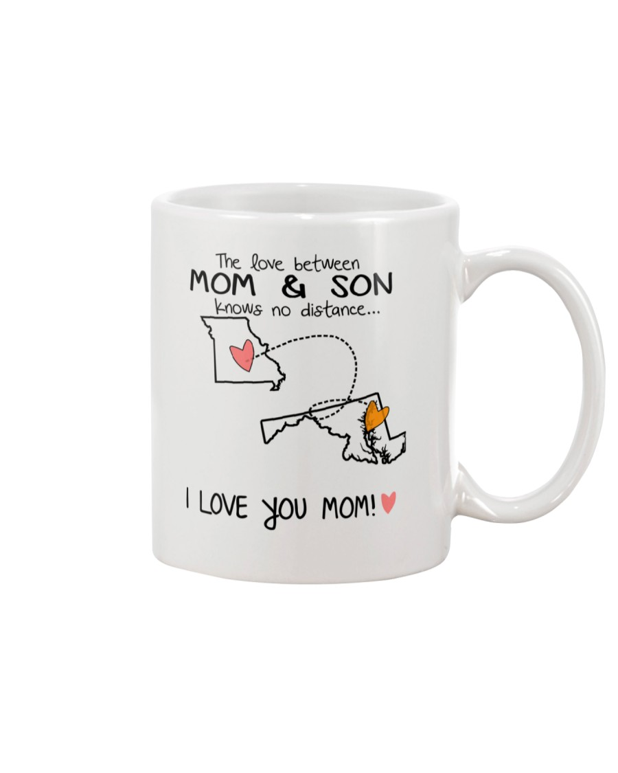 25 20 MO MD Missouri Maryland Mom and Son D1 Mug