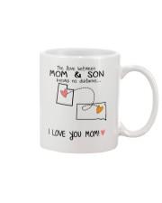 44 41 UT SD Utah South Dakota Mom and Son D1 Mug front