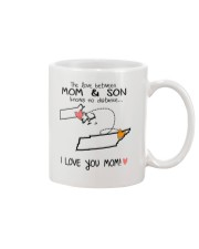 21 42 MA TN Massachusetts Tennessee Mom and Son D1 Mug front