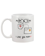 35 50 OH WY Ohio Wyoming Mom and Son D1 Mug back