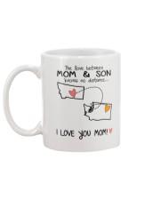 26 47 MT WA Montana Washington Mom and Son D1 Mug back