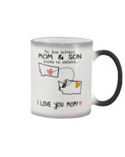 26 47 MT WA Montana Washington Mom and Son D1 Color Changing Mug thumbnail