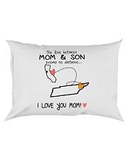 05 42 CA TN California Tennessee PMS6 Mom Son Rectangular Pillowcase tile