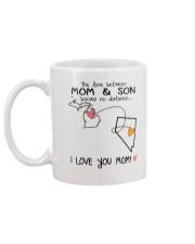 22 28 MI NV Michigan Nevada Mom and Son D1 Mug back