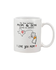43 30 TX NJ Texas New Jersey Mom and Son D1 Mug front