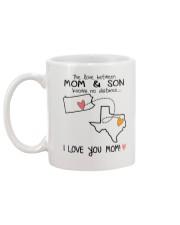 38 43 PA TX Pennsylvania Texas Mom and Son D1 Mug back
