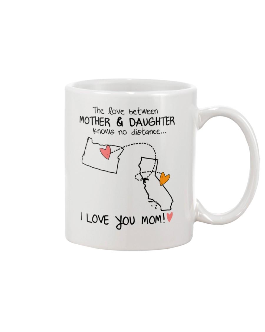37 05 OR CA Oregon California mother daughter D1 Mug