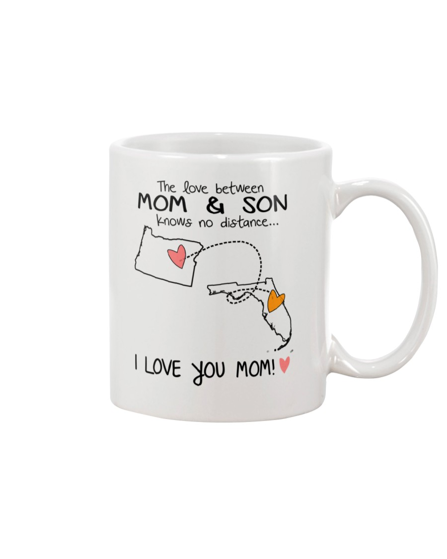 37 09 OR FL Oregon Florida PMS6 Mom Son Mug