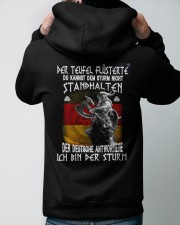 GM Ich bin der sturm Hooded Sweatshirt apparel-hooded-sweatshirt-lifestyle-back-48