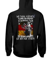 GM Ich bin der sturm Hooded Sweatshirt back