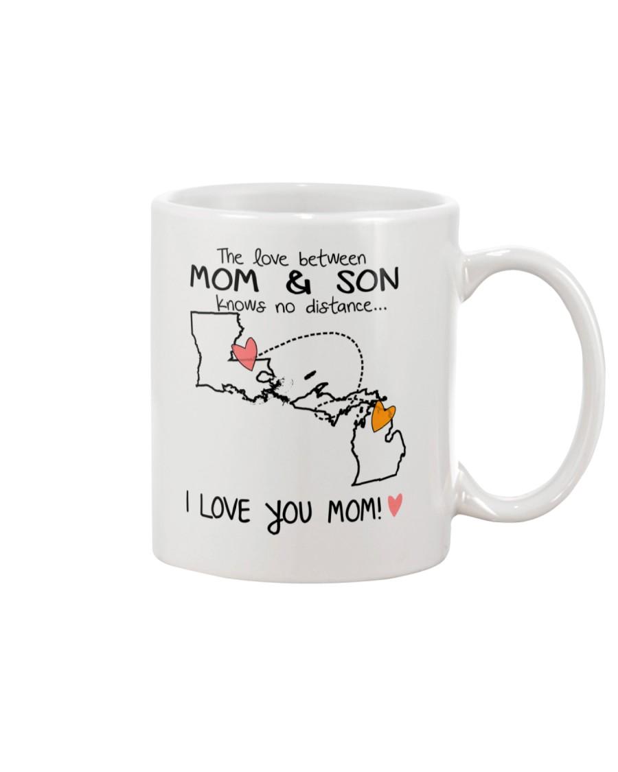 18 22 LA MI Louisiana Michigan Mom and Son D1 Mug